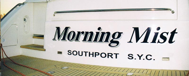 Boat Name and Home Port