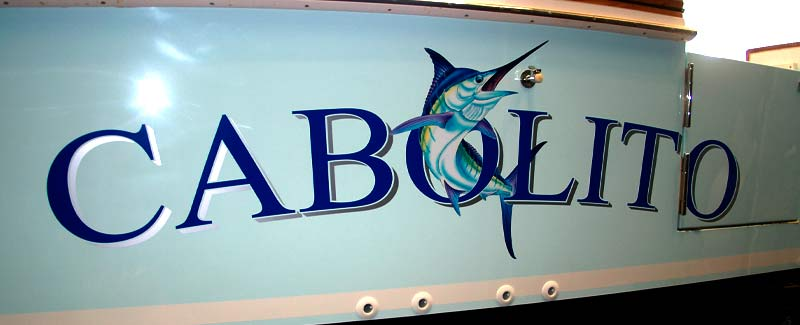 Cabolito Game Boat Name