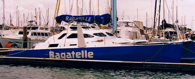 Catamaran Side Name