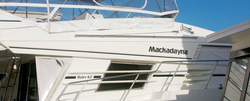 Cruiser Boat Name