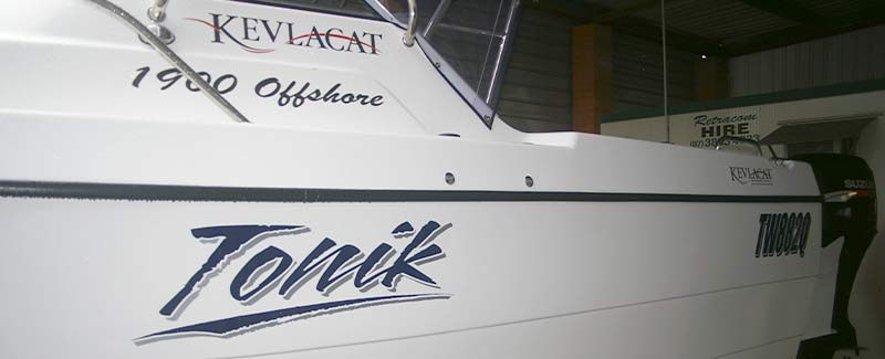 Cruiser Boat Name Tonik