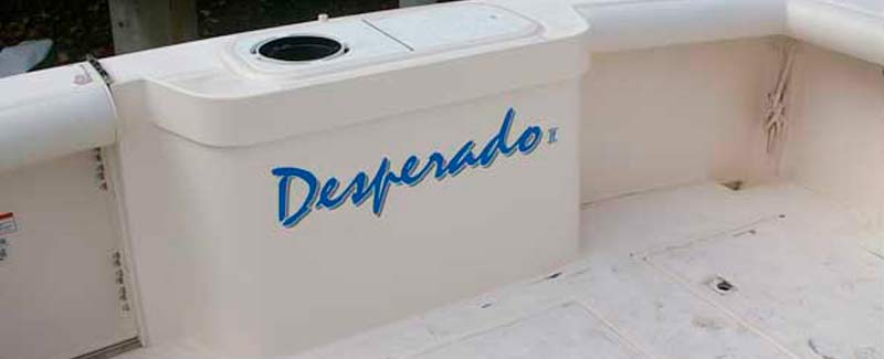 Desperado Transom Name