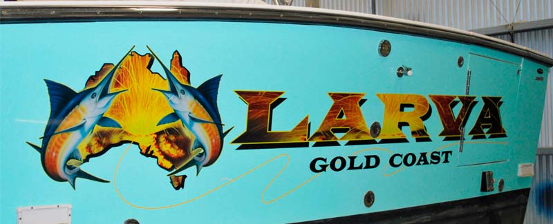Larva Game Boat Name