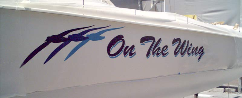 Name for a Boat On The Wing