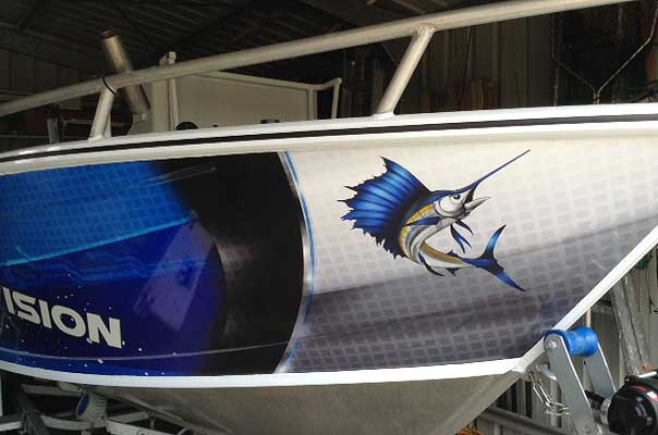Sailfish Boat Stickers
