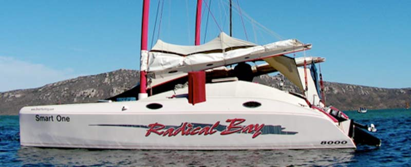 Catamaran Boat Graphics