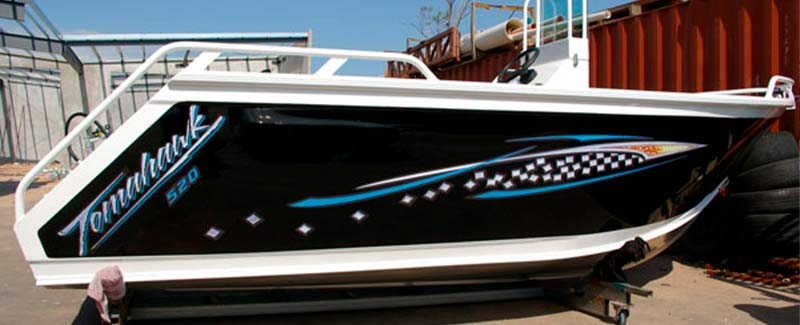 Speed Boat Name Graphics Tomahawk Speed Boat Formosa