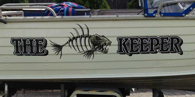 The Keeper Skella Fish Graphics
