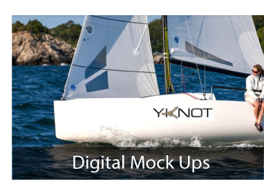 Free Digital Boat Name Mock Up
